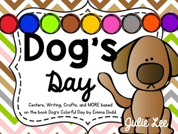 Color Activities Dog's Colorful Day Centers