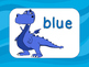 Color Anchor Charts Dinosaurs