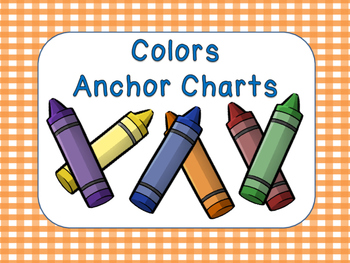 Color Anchor Charts Posters