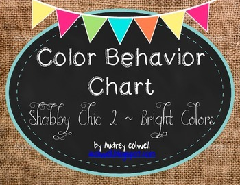 Color Behavior Chart ~ Burlap & Chalk 2