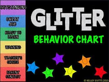 Color Behavior Chart (GLITTER)