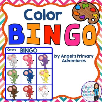Color Bingo Game