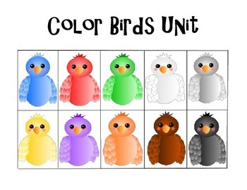 Colors (with color birds)