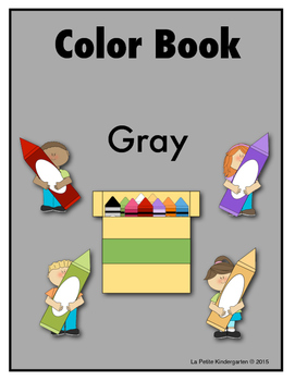 Color Book Emergent Reader:  Gray