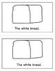 Color Book Emergent Reader:  White