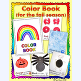 Color Book: art exploration for the fall season