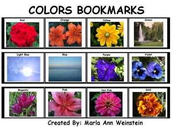 Colors Bookmarks