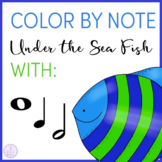 Color By Note Under the Sea: Fish