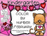 Color By Number February {Valentine's Day, President's / G
