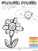 ***INDEPENDENT*** Color By Numbers - Flower Power - Basic