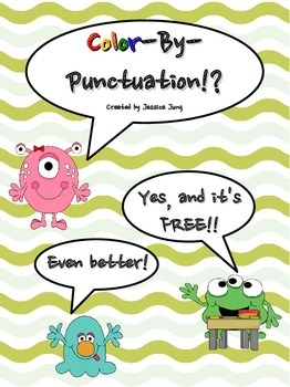 Color-By-Punctuation!? {FREEBIE}