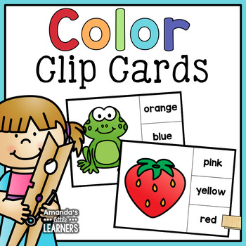 Color Clip Cards