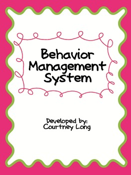 Color-Coded Behavior Management System