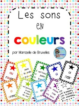 Color-Coded French Sounds Posters / Affiches Des Sons Fran