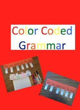Color Coded Grammar
