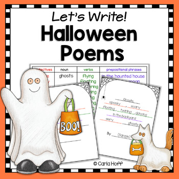 Halloween Poetry Writing  (With Frames)