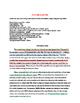 Color Coding Informational Essay