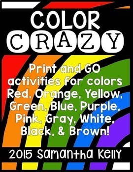 Colors and Color Words