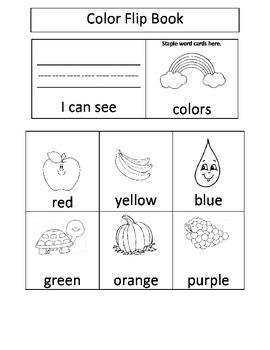 Color Flip Book