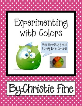 Color Fun Using Gobstoppers