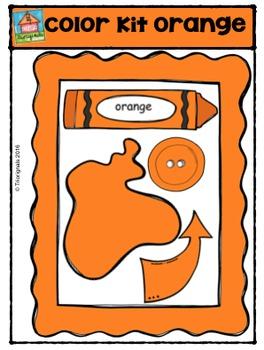 Color Kit Orange {P4 Clips Trioriginals Digital Clip Art}