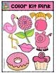 Color Kit Pink {P4 Clips Trioriginals Digital Clip Art}