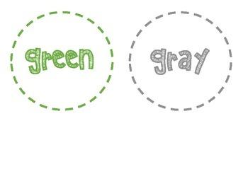 Color Labels Freebie