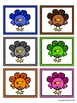 Color Matching Activity Set - Colorful Turkeys