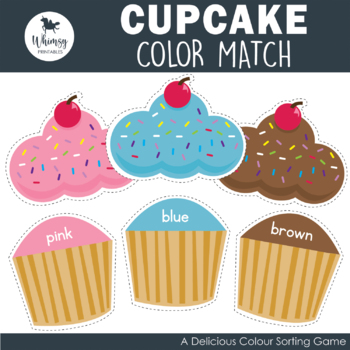 Color Matching Cupcakes
