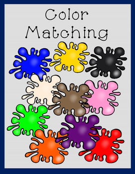 COLORS Color Matching Objects