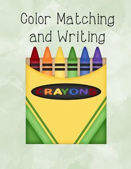 Color Matching and Writing