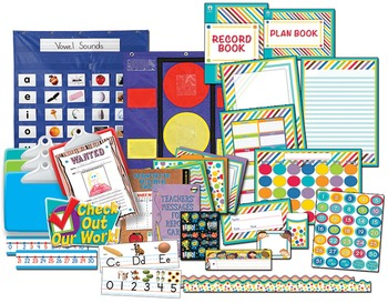 Color Me Bright Beginning Teacher Starter Kit SALE 22% OFF 144721