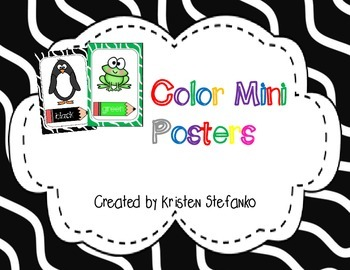 Color Mini Posters