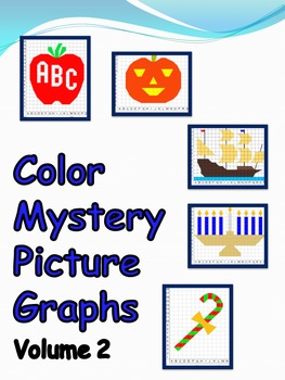 Color Mystery Picture Graphs - Vol. 2