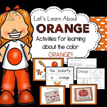 Color Orange (Orange Week)