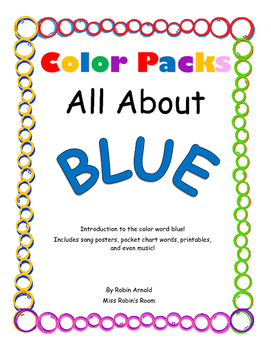 Color Packs - All About Blue!