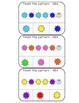 Color Patterns clothespin activity cards (ABA, ABB, AAB, A