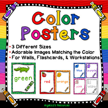 Color Posters (3 Different Sizes)
