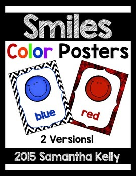Smiles Color Posters
