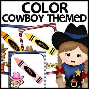 Color Posters (Cowboy Themed)