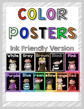 Color Posters Ink Friendly Backgroun