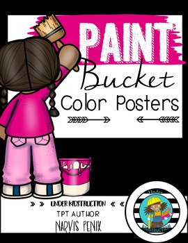 Color Posters-Paint Bucket Theme