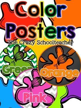 Color Posters {Paint}