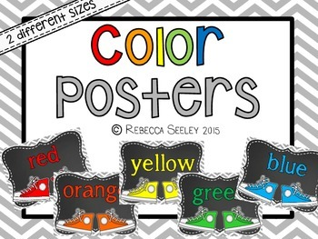 Color Posters- Sneakers