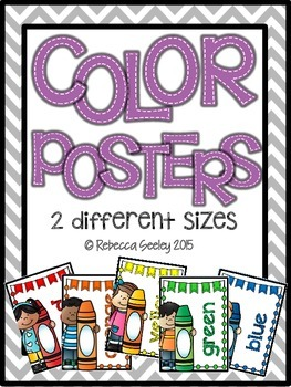 Color Posters- Whimsy Style