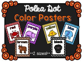 Color Posters - Polka Dot