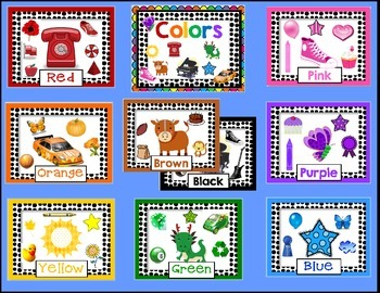 Color Posters for the Primary Classroom