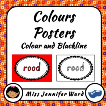 Color Posters in Dutch BUNDLE