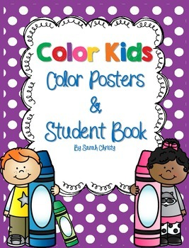 Color Posters~Polka Dot Style~ With Extras!