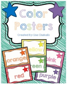 Color Postes - Star Theme